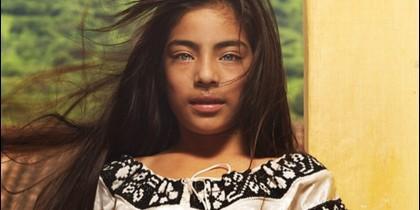 Adriana, la 'niña más bonita de México', retratada en 2011