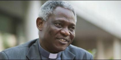 El cardenal Peter Turkson, Prefecto del Dicasterio para el Desarrollo Humano