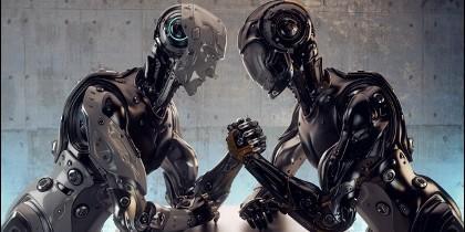 Robots, ciencia, técnica, superhumanos.