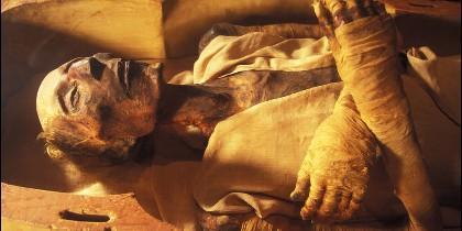 Una momia.