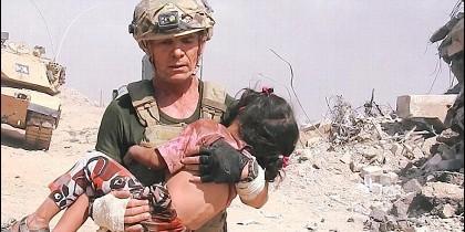 David Eubank, rescatando a la niña en Mosul