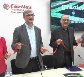 Salvador Bacardit, junto a Omella