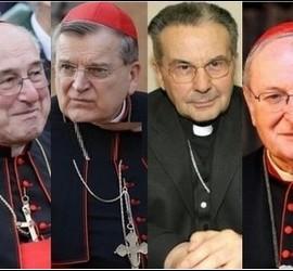 Los cardenales díscolos