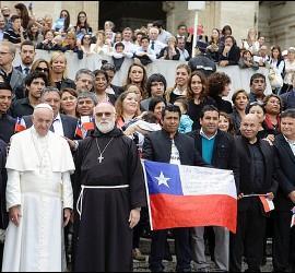 El Papa viajará a Chile y Perú en enero 2018