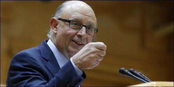 El ministro Cristobal Montoro.