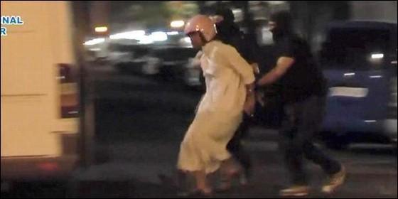 Captura en Madrid del terrorista yihadista Rachid El Omari.