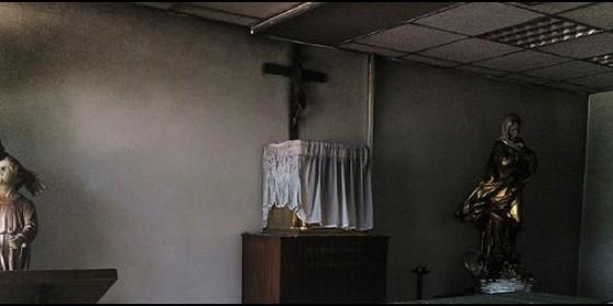 La capilla de la Autónoma, atacada