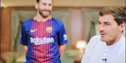 Casillas y doble de Messi