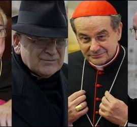 Los cuatro cardenales díscolos