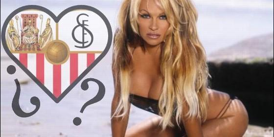Pamela Anderson pillada con un futbolista