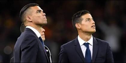 El grande de Europa que quiere juntar a James Rodríguez y Keylor Navas fuera del Real Madrid