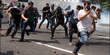 Recientes enfrentamientos violentos en Venezuela