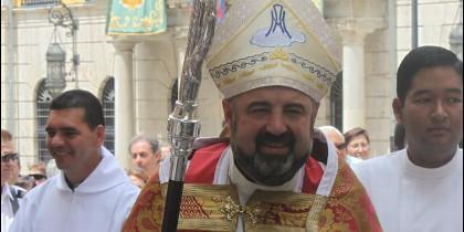 Carlos Escribano, obispo de Calahorra