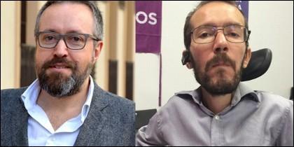 Juan Carlos Girauta y Pablo Echenique.