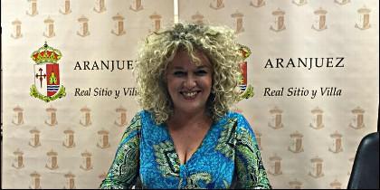 Cristina Moreno, alcaldesa de Aranjuez (PSOE).