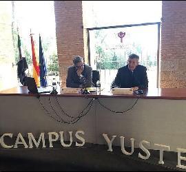 José María Contreras, en los Diálogos de Yuste