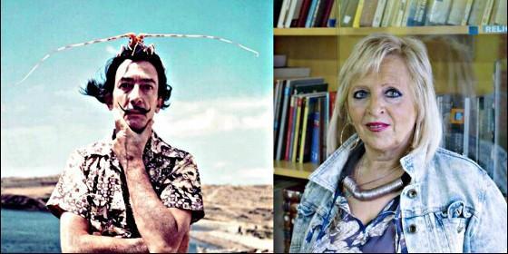 Salvador Dali y  Pilar Abel.