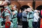 Custodio Ballester y los legionarios
