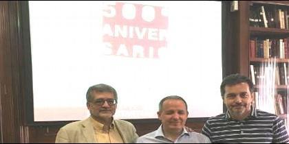 Reponsables de los evantos del V Centenario de la Reforma en España