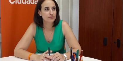 Pilar Vicente, portavoz de Ciuadanos en el Ayuntamiento de Valladolid