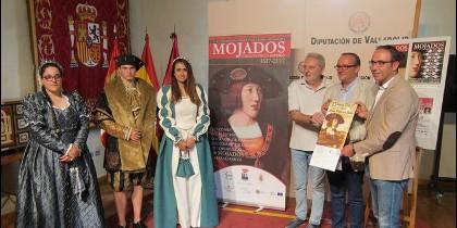Presentación de las actividades 'Mojados, corazón de un Imperio' en la Diputación de Valladolid