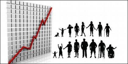 Población, natalidad, inmigración, demografía.