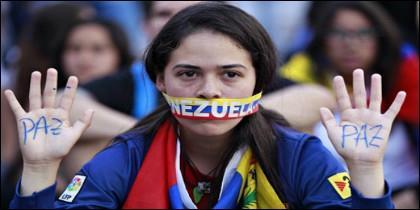 'Somos Venezuela y queremos libertad'