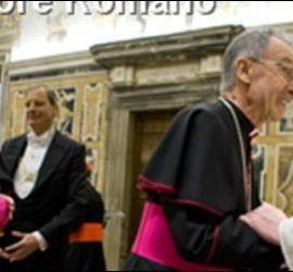 Ladaria, con el Papa Francisco