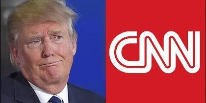 Donald Trump, presidente de EEUU, contra CNN.