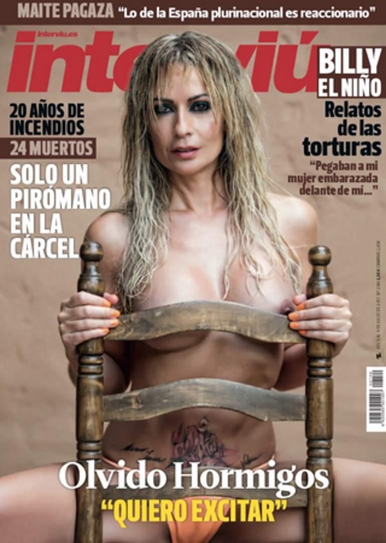 Olvido Hormigos Se Desnuda Para Interviú Periodista Digital