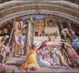 Rafael, en los Museos Vaticanos