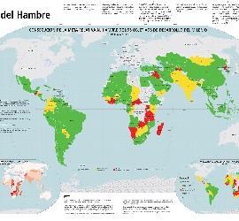 Mapa del hambre de la FAO
