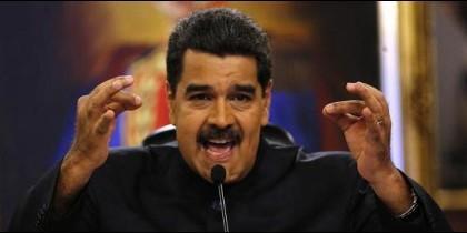 El chavista Nicolás Maduro, presidente de Venezuela.