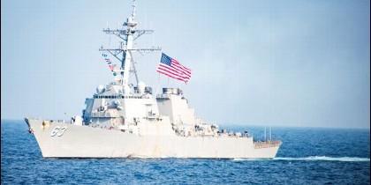 EE.UU. asegura que sus incursiones defienden el derecho de 'pasaje inocente' de buques militares otorgado por la Convención de la ONU sobre el Derecho del Mar