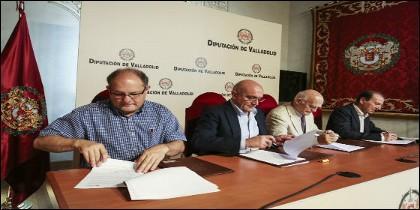 Firma de la renovación de los diferentes convenios de la Diputación con las ONG