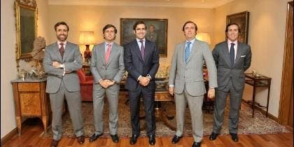 Los hermanos Ruiz-Mateos.
