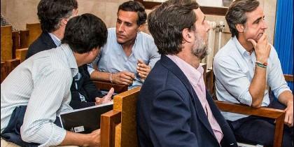 Los hermanos Ruiz-Mateos en el juicio celebrado en Palma