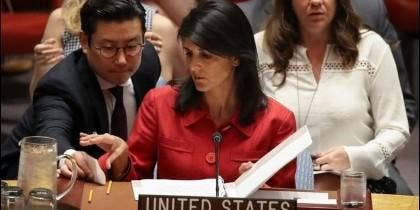 La embajadora estadounidense ante la ONU anuncio posibles nuevas sanciones contra Corea del Norte