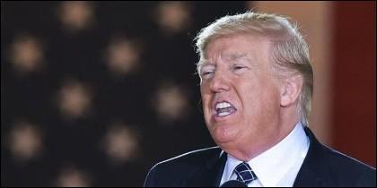 Donald Trump, el presidente de EEUU.