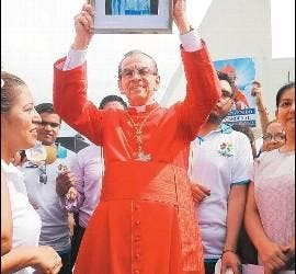 Discurso del cardenal Rosa Chávez