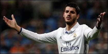 Alvaro Morata (REAL MADRID).
