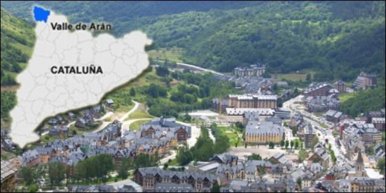 El valle de ar n da a los independentistas catalanes una - Inmobiliaria valle de aran ...