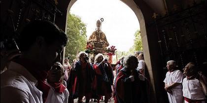 Tradicional Procesión de San Fermín