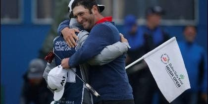 El campeón de golf Jon Rahm.