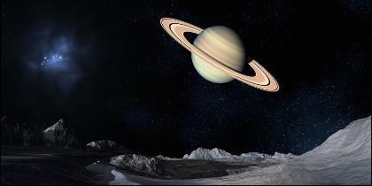 Universo, planeta, Saturno.