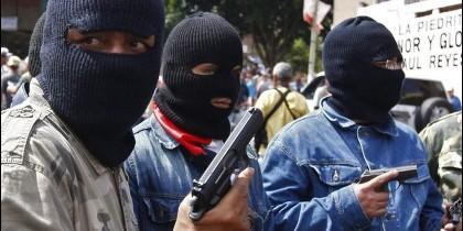 Los colectivos salieron a la calle en abril de 2008 para protestar contra unas redadas de la fuerzas de seguridad