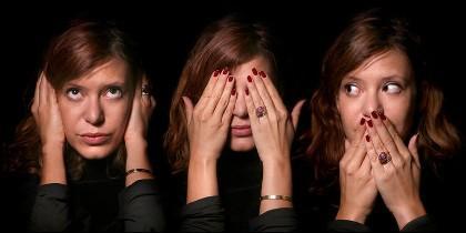 Autocensura: ni oir, ni ver, ni hablar.