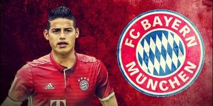 James Rodríguez (BAYERN DE MUNICH).