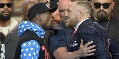 Mayweather y McGregor.