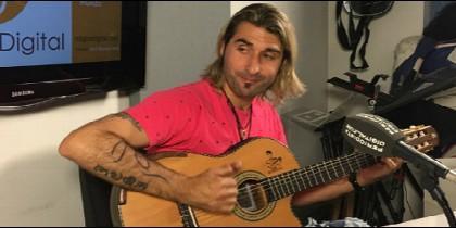 El cantautor Rubén de Lís